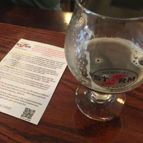 Das Foto wurde bei Newport Storm Brewery von Brian D. am 5/26/2017 aufgenommen