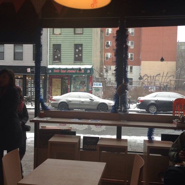 Great new seating!!! Snow gazing with a warm drink... Ahh