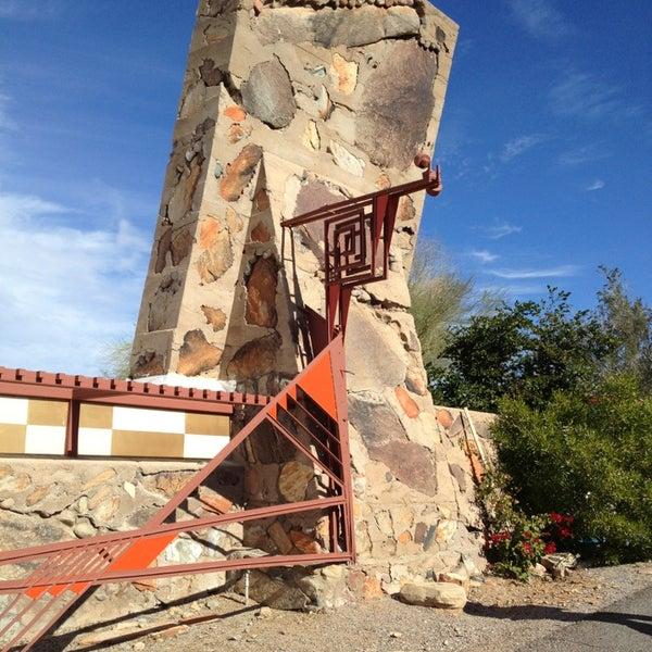 รูปภาพถ่ายที่ Taliesin West โดย Blanche T. S. เมื่อ 12/29/2012