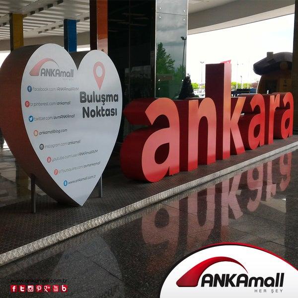 Foto scattata a ANKAmall da ANKAmall il 9/8/2016