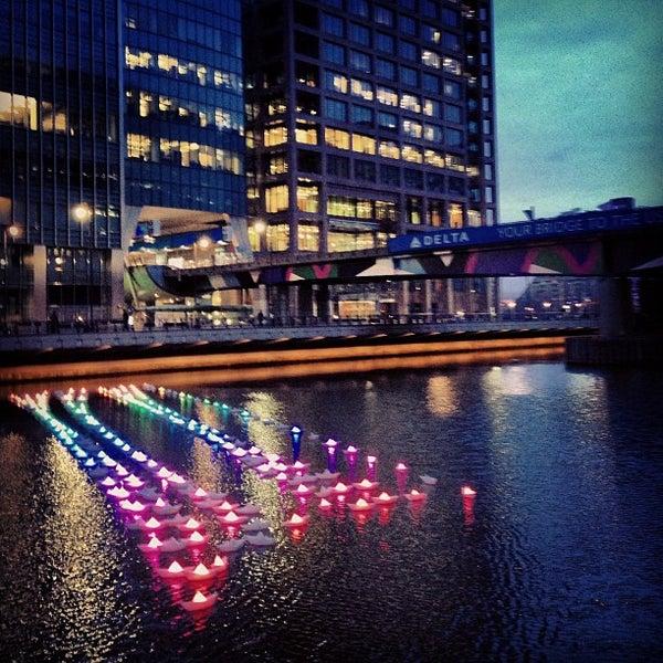 Foto scattata a Canary Wharf da Susy A. il 1/13/2013