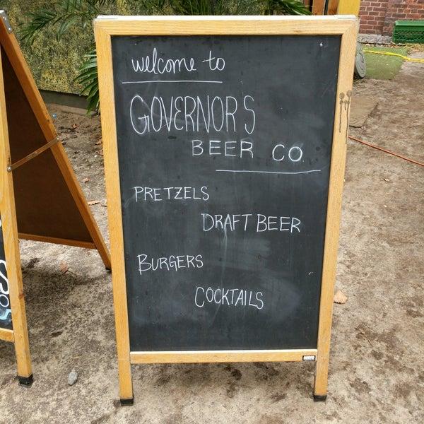 Das Foto wurde bei Governors Island Beer Co. von Thibaut C. am 9/21/2018 aufgenommen