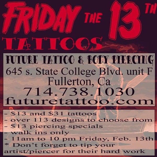 Future Tattoo Tattoo Parlor In Fullerton