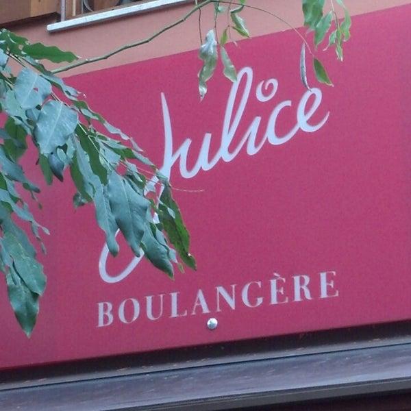 รูปภาพถ่ายที่ Julice Boulangère โดย Marcos B. เมื่อ 2/23/2013