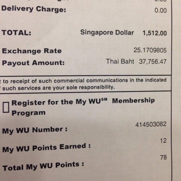 Fotos Em Western Union Banco Singapore