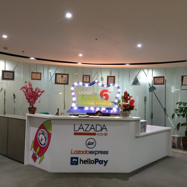 Lazada Indonesia Head Office (Sekarang Ditutup) - Jakarta