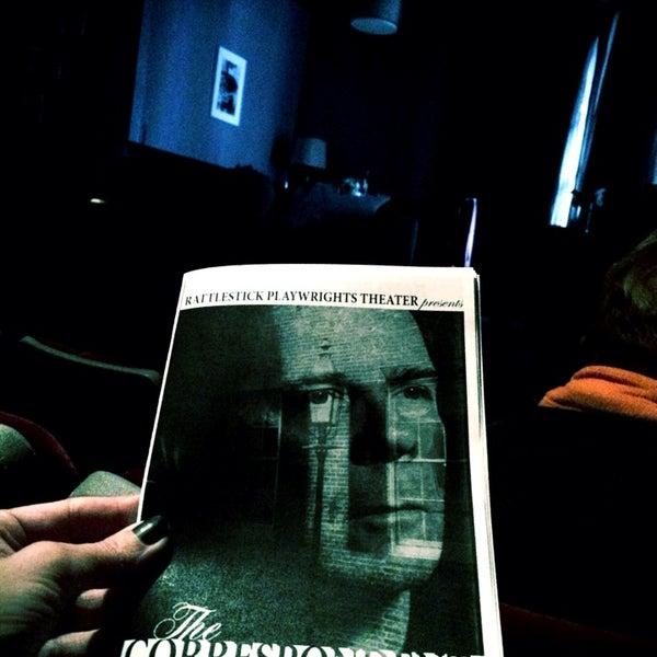 2/8/2014にSamina R.がRattlestick Playwrights Theaterで撮った写真