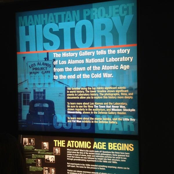 Photo taken at Bradbury Science Museum by Mesut on 10/9/2013