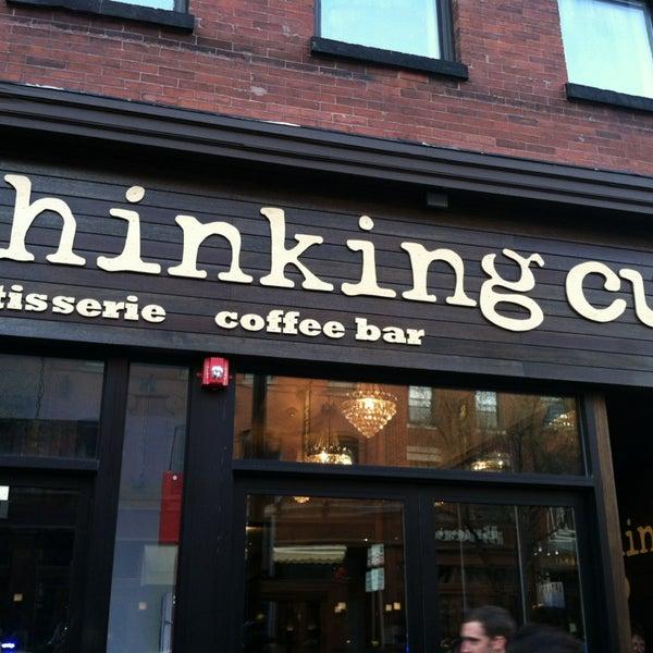 4/13/2013 tarihinde Scott P.ziyaretçi tarafından Thinking Cup'de çekilen fotoğraf