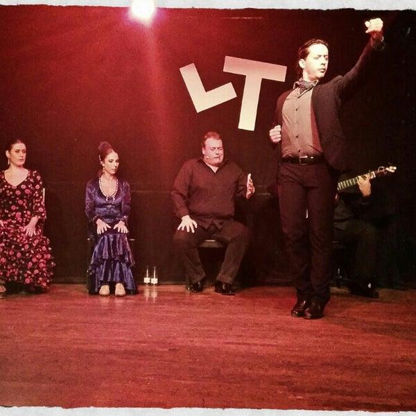 Снимок сделан в Las Tablas Tablao Flamenco пользователем Olga S. 8/18/2015