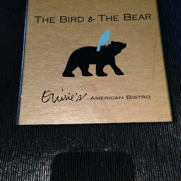 Photo prise au The Bird and the Bear par Diego R. le8/10/2014