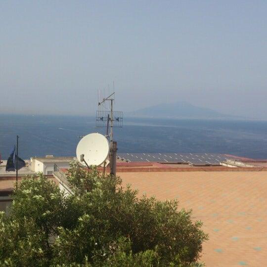 Снимок сделан в Capri Tiberio Palace пользователем Claudio C. 7/4/2014