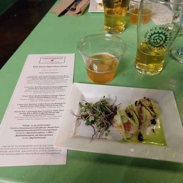 Foto tirada no(a) Greenhouse Craft Food por Carl K. em 1/28/2019
