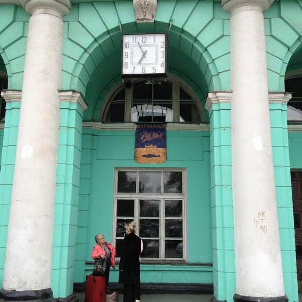 жд вокзал мурманск после ремонта фото находится