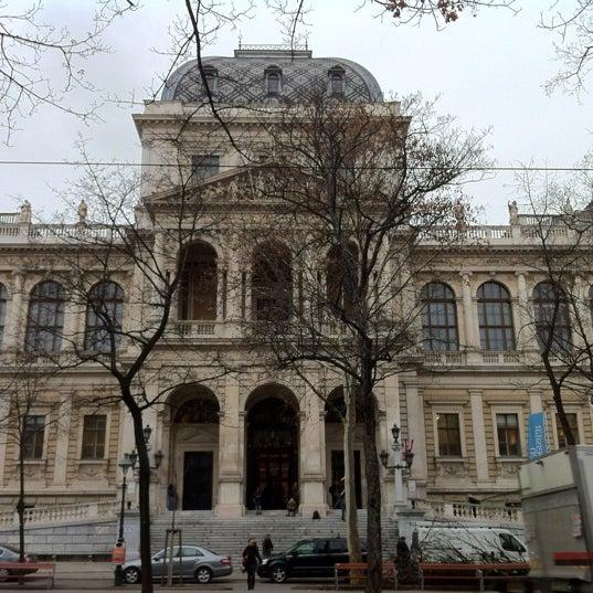 Foto tomada en Universität Wien por Gabriel A. el 11/30/2012