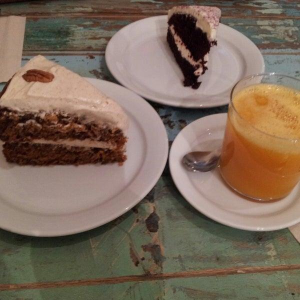Increible carrot cake, se deshace en la bocaa... mmmm!!