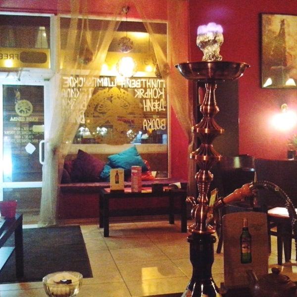 Das Foto wurde bei Кафе-кальянная Шива von Марина Г. am 2/11/2014 aufgenommen