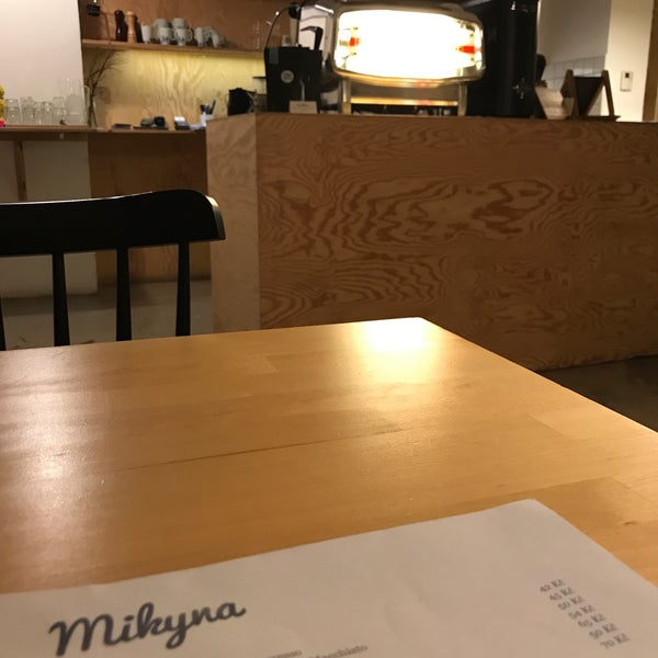 Foto diambil di Mikyna Coffee & Food Point oleh Gregor S. pada 2/2/2018