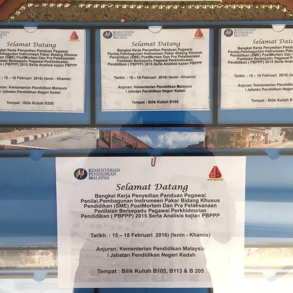 Photos at Institut Aminuddin Baki Caw Utara - Jitra, Kedah
