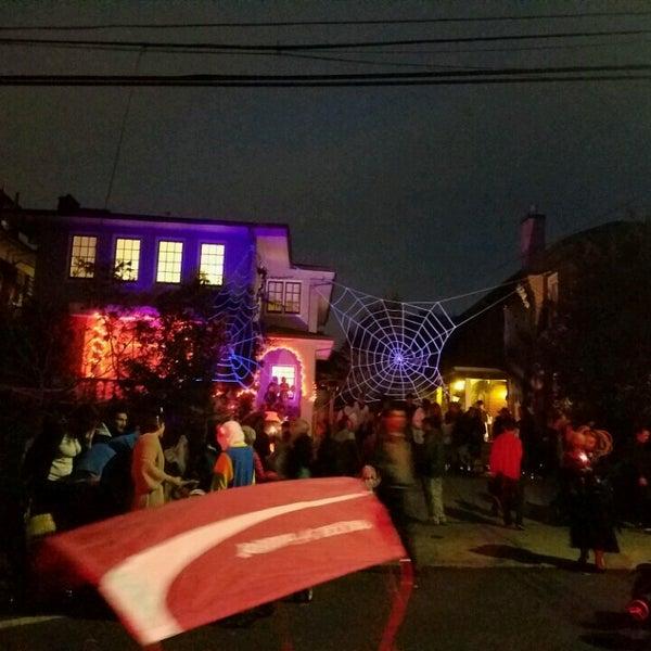 Russell Street Halloween Claremont Elmwood Berkeley Ca