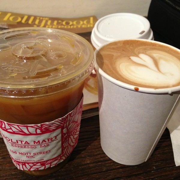 2/14/2013にLisaがNolita Mart & Espresso Barで撮った写真