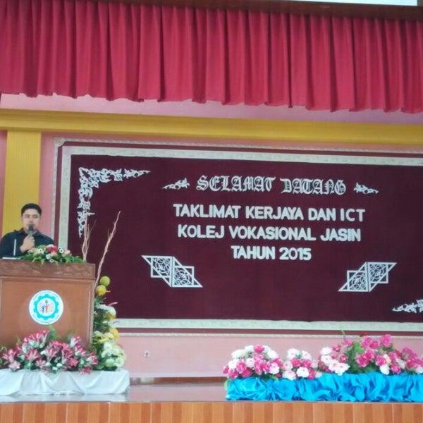 Kolej Vokasional Jasin College Classroom