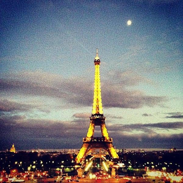 Photo prise au Place du Trocadéro par Jolan K. le11/21/2012