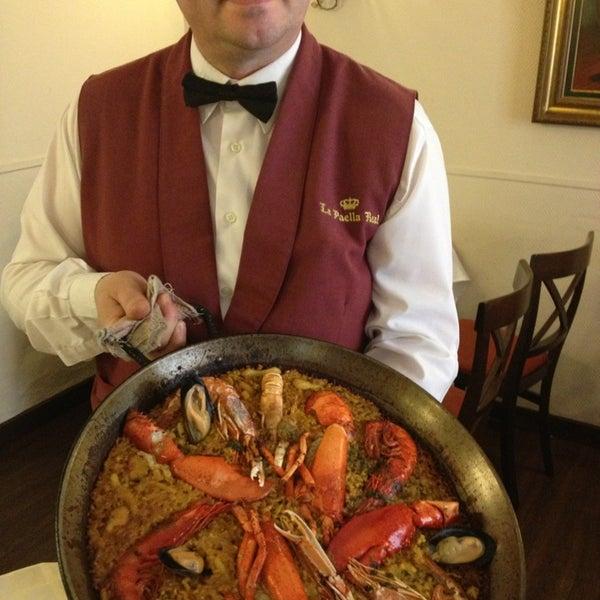 La Paella Real Paella Restaurant In Opera
