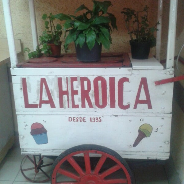 Photos At Neveria Y Paleteria La Heroica Ice Cream Shop
