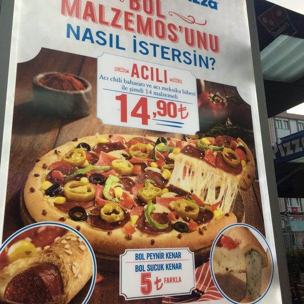 Photos At Domino S Pizza 50 Yil Sultangazi Istanbul