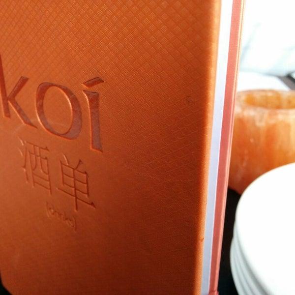 Foto scattata a Koi Fine Asian Cuisine & Lounge da Earvin B. il 4/11/2014
