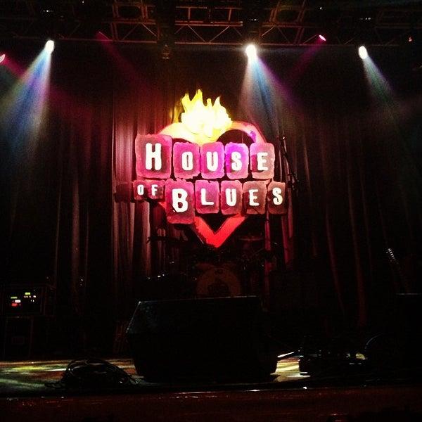 12/16/2012에 Anabel M.님이 House of Blues에서 찍은 사진