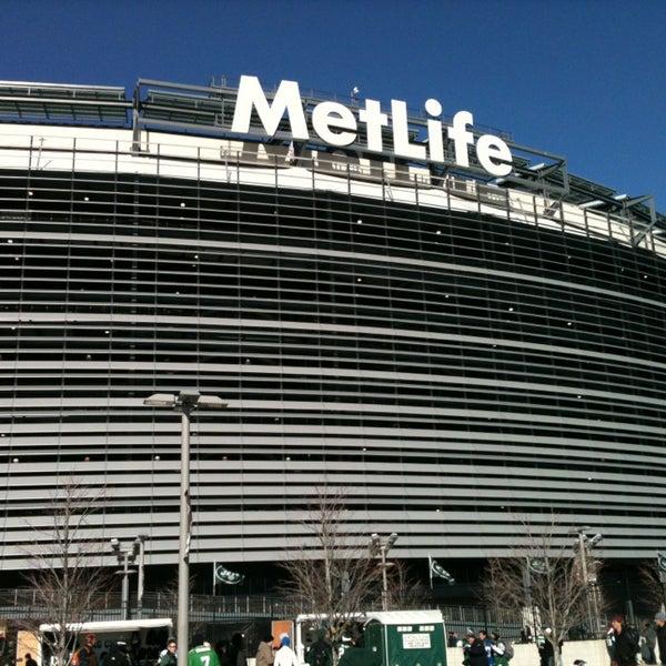 รูปภาพถ่ายที่ MetLife Stadium โดย Caio C. เมื่อ 12/23/2012