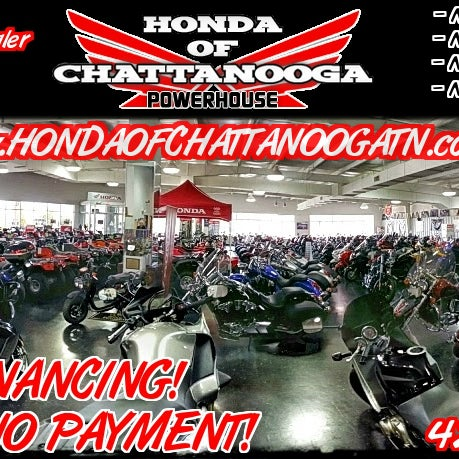 Honda Of Chattanooga Motorcycle Shop In Chattanooga