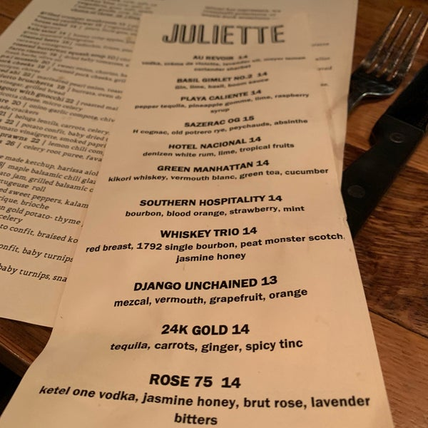 Photos At Juliette Kitchen Bar 15 Tips From 570 Visitors