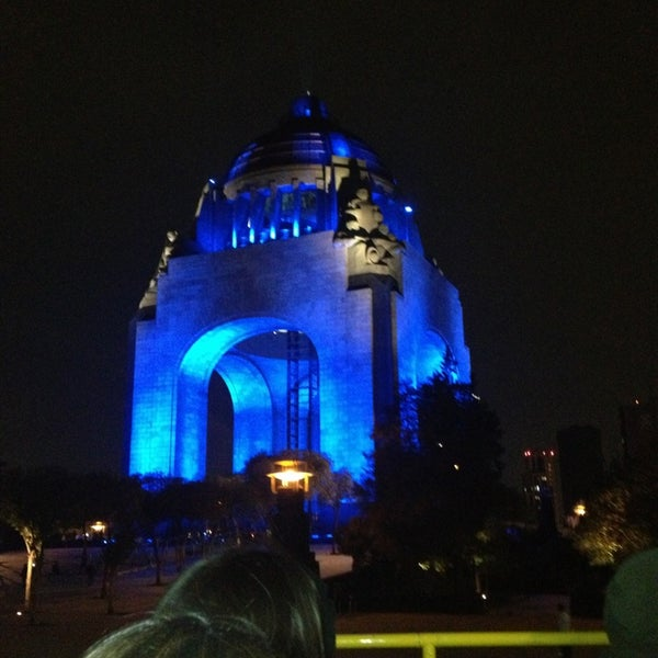 Foto tomada en Monumento a la Revolución Mexicana por Viridiana M. el 4/6/2013