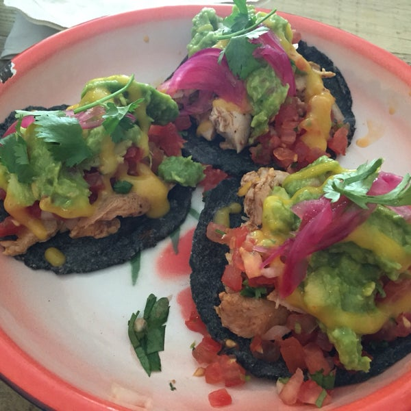 Tacos with both good Pico and Guac are a rare treat in Berlin.