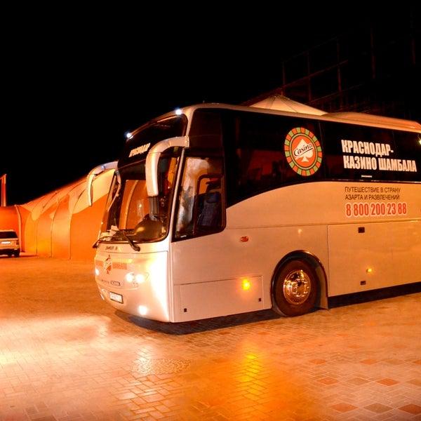 Автобус в казино шамбала казино шамбала адрес