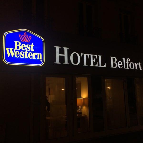 Photo prise au Best Western Hôtel Belfort par Ahmet S. le10/25/2017
