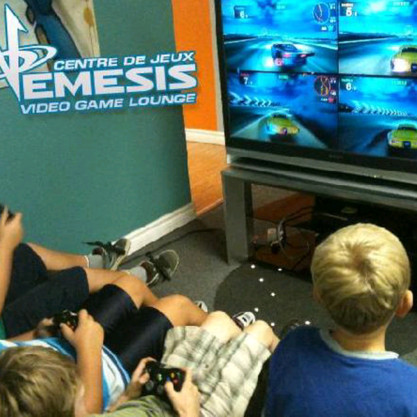 Nemesis Video Game Lounge Party Centre Gaming Cafe