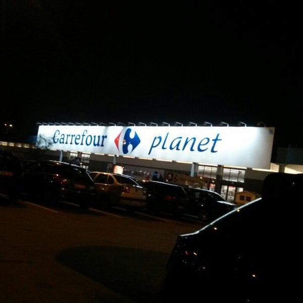 Снимок сделан в Carrefour hypermarché пользователем Abdelkrim B. 3/23/2013