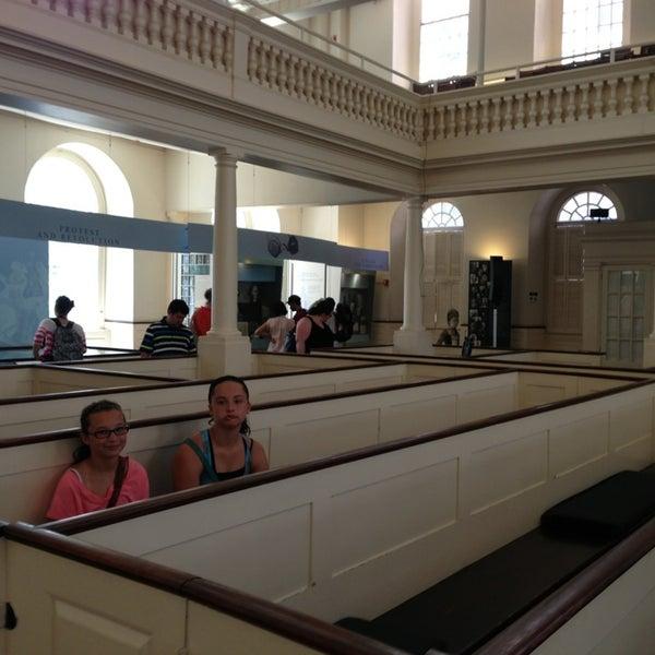 7/30/2013にChris R.がOld South Meeting Houseで撮った写真