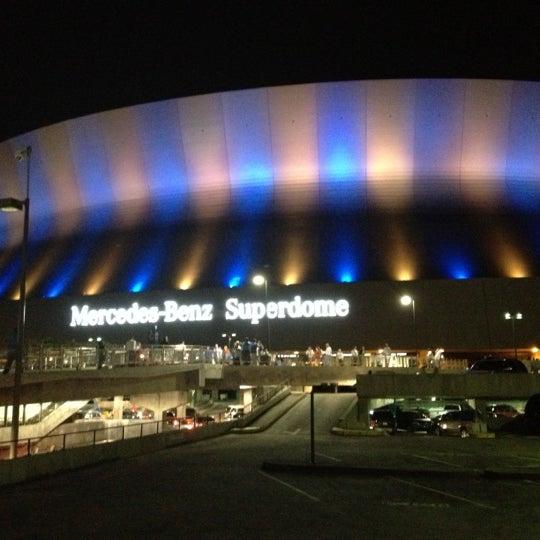 Football Stadium In New Orleans