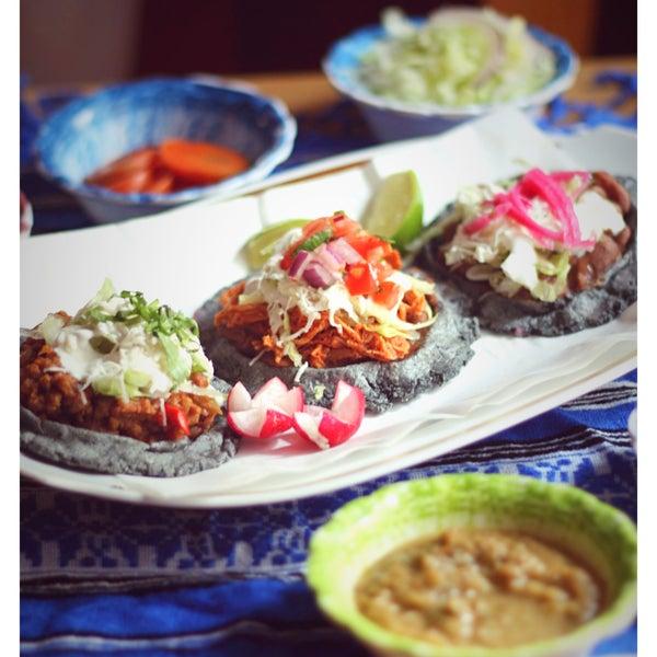 Sopes mit Picadillo, Tinga oder Vegetarisch!