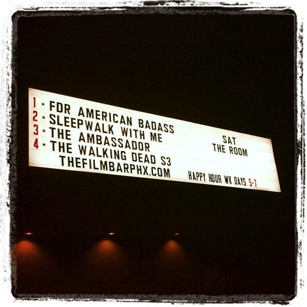 10/19/2012にJeremiah W.がFilmBarで撮った写真