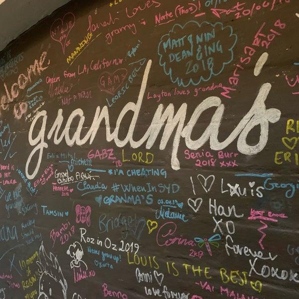 Photo prise au Grandma's Bar par Roberto B. le7/8/2019