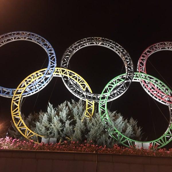 памятник олимпийских колец фото ещё один сданный
