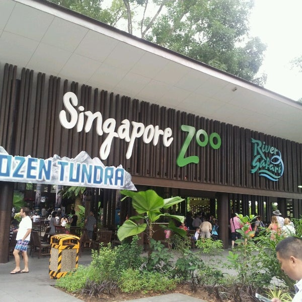 Foto tirada no(a) Singapore Zoo por Shamzzy Q. em 7/14/2013