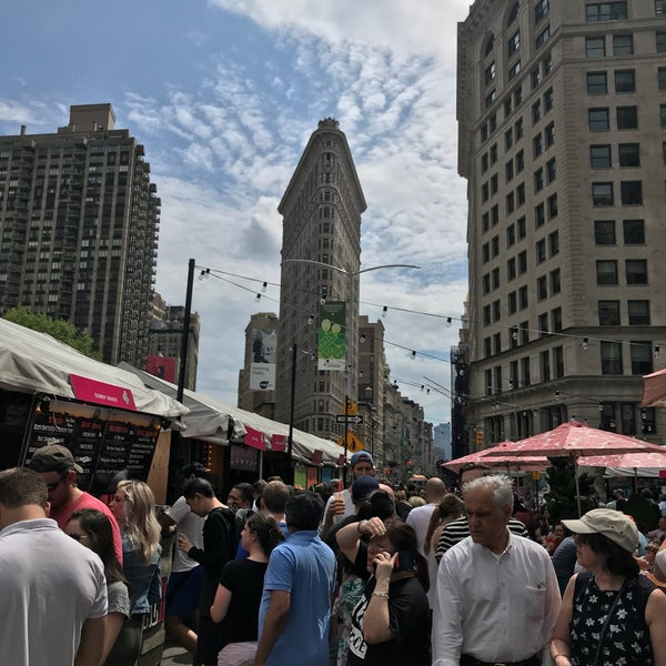 Foto tomada en Mad. Square Eats  por Chris el 5/20/2018