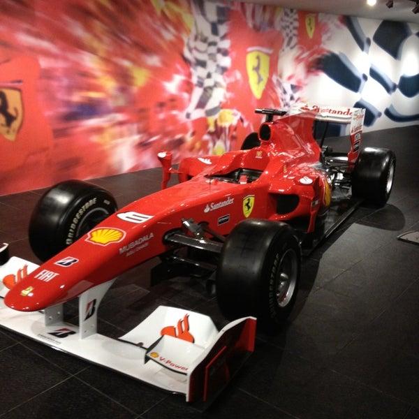 Foto tomada en Ferrari World Abu Dhabi por ใหม่ A. el 1/3/2013